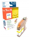 318572 - Peach Tintenpatrone gelb kompatibel zu LC-123 Brother